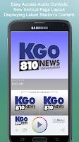 Screenshot of KGO-AM