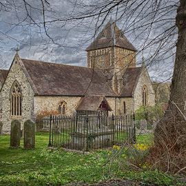 Seale Church by Chris Knowles - Buildings & Architecture Places of Worship