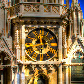 Kathedral clock  by Tihomir Beller - Buildings & Architecture Public & Historical