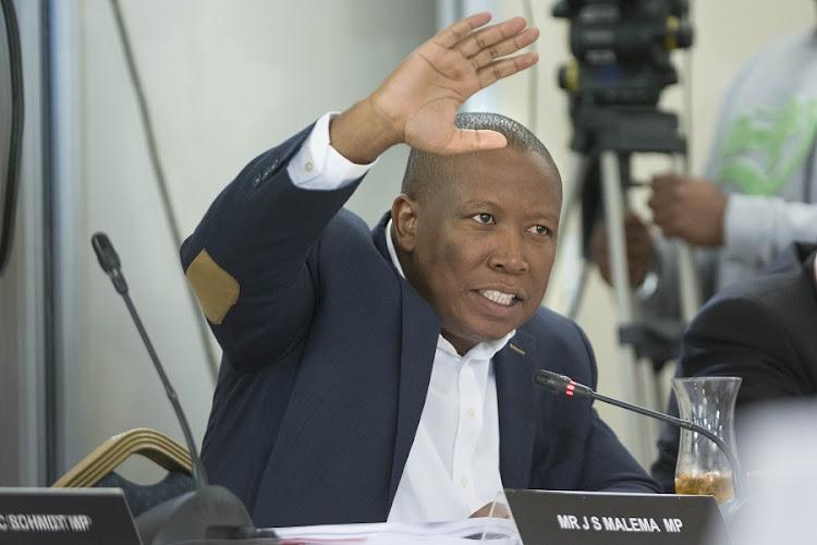 Julius Malema. Picture: TREVOR SAMSON
