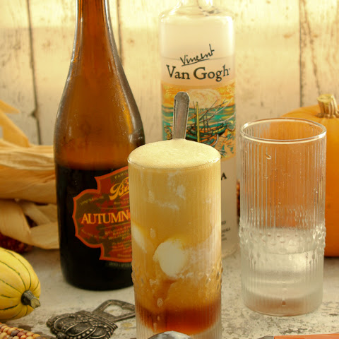 Maple Vanilla Beer Float