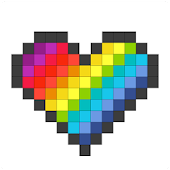 Pixel - Color by Number Icon