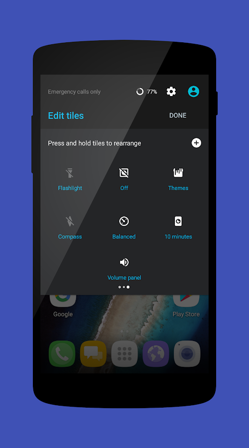 Cm13 Material Nougat 7 Screenshot 8
