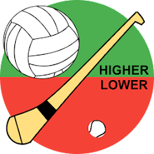 Higher or Lower Gaelic&Hurling