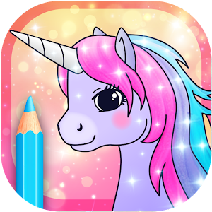 Unicorn Coloring Pages with Animation Effects For PC / Windows 7/8/10 / Mac – Free Download