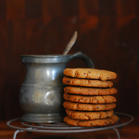 Chocolate Chip Gingernut Biscuits