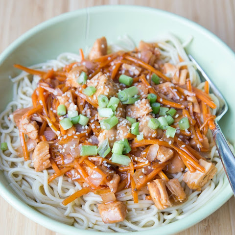 Spicy Asian Chicken Noodles