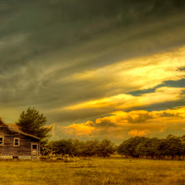 By the Storm by Michele Richter - Buildings & Architecture Decaying & Abandoned ( hdr, abandoned )