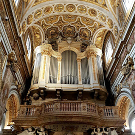 Organo della Chiesa di San Luigi dei Francesi by Patrizia Emiliani - Instagram & Mobile Android ( roma, chiesa, organo )