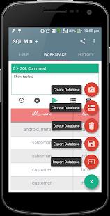 SQL Mini Plus-SQLite Editor