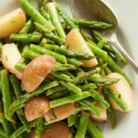 Red Potato and Asparagus Salad