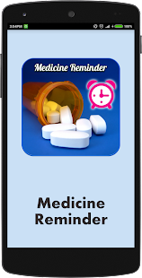 Medicine Reminder Alarm screenshot for Android