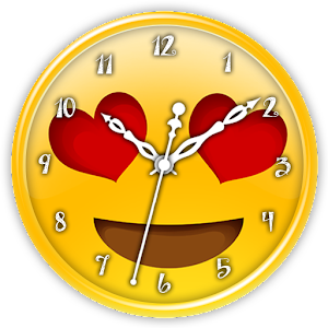 Emoji Clock Live Wallpaper