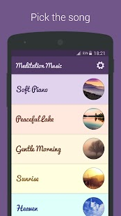 Meditation Music - Relax, Yoga Fitness app screenshot 1 for Android