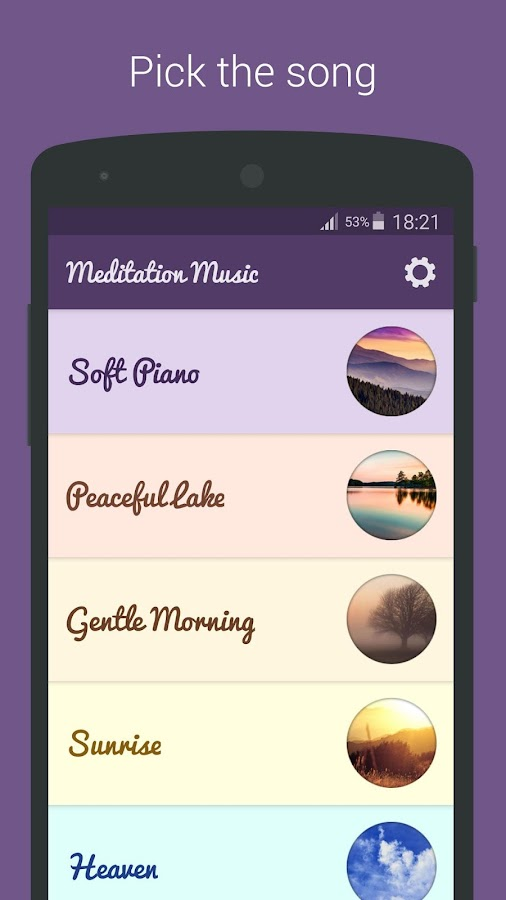 Meditation Music - Relax, Yoga Screenshot 0
