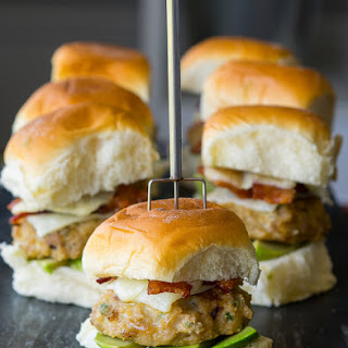California Avocado Chicken Sliders