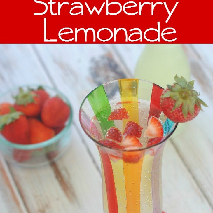 Homemade Strawberry Lemonade Recipe | Yummly