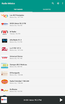 Radio México APK screenshot thumbnail 9