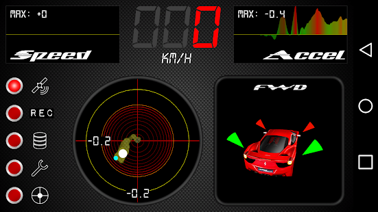 Car G-Meter - screenshot
