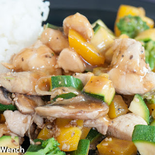 Chicken Stir Fry — Happiness in a Skillet!
