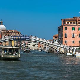 Gateway to Paradise.. Venice Santa Lucia by Hariharan Venkatakrishnan - City,  Street & Park  Vistas