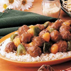 Tangy Sweet-and-Sour Meatballs
