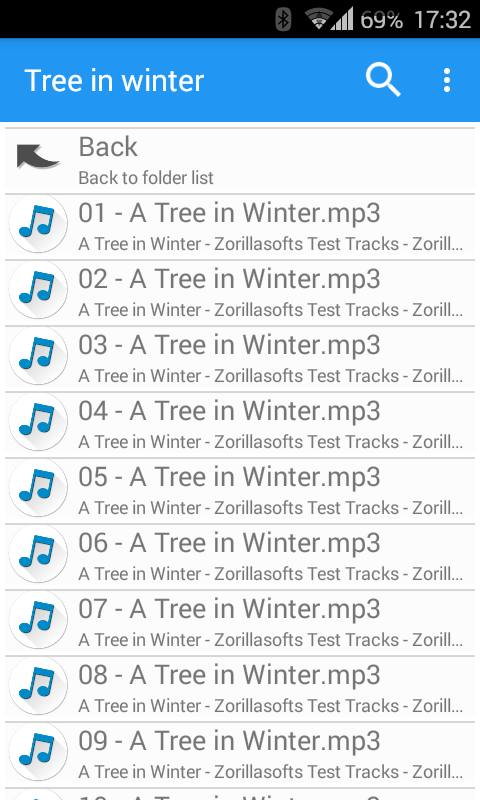Music Folder Player Full Screenshot 3