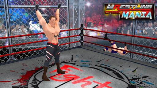Wrestling Cage Mania - Free Wrestling Games : 2K18