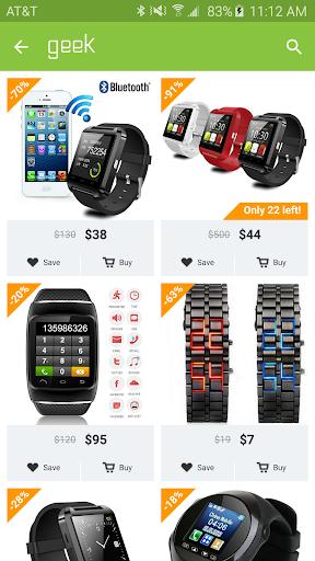 Geek - Smarter Shopping screenshot 1