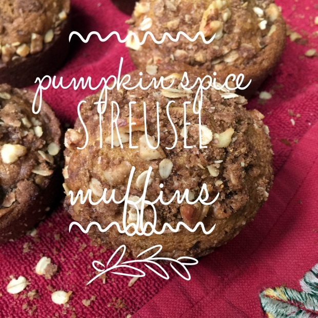 Pumpkin Spice Streusel Muffins Recipe | Yummly
