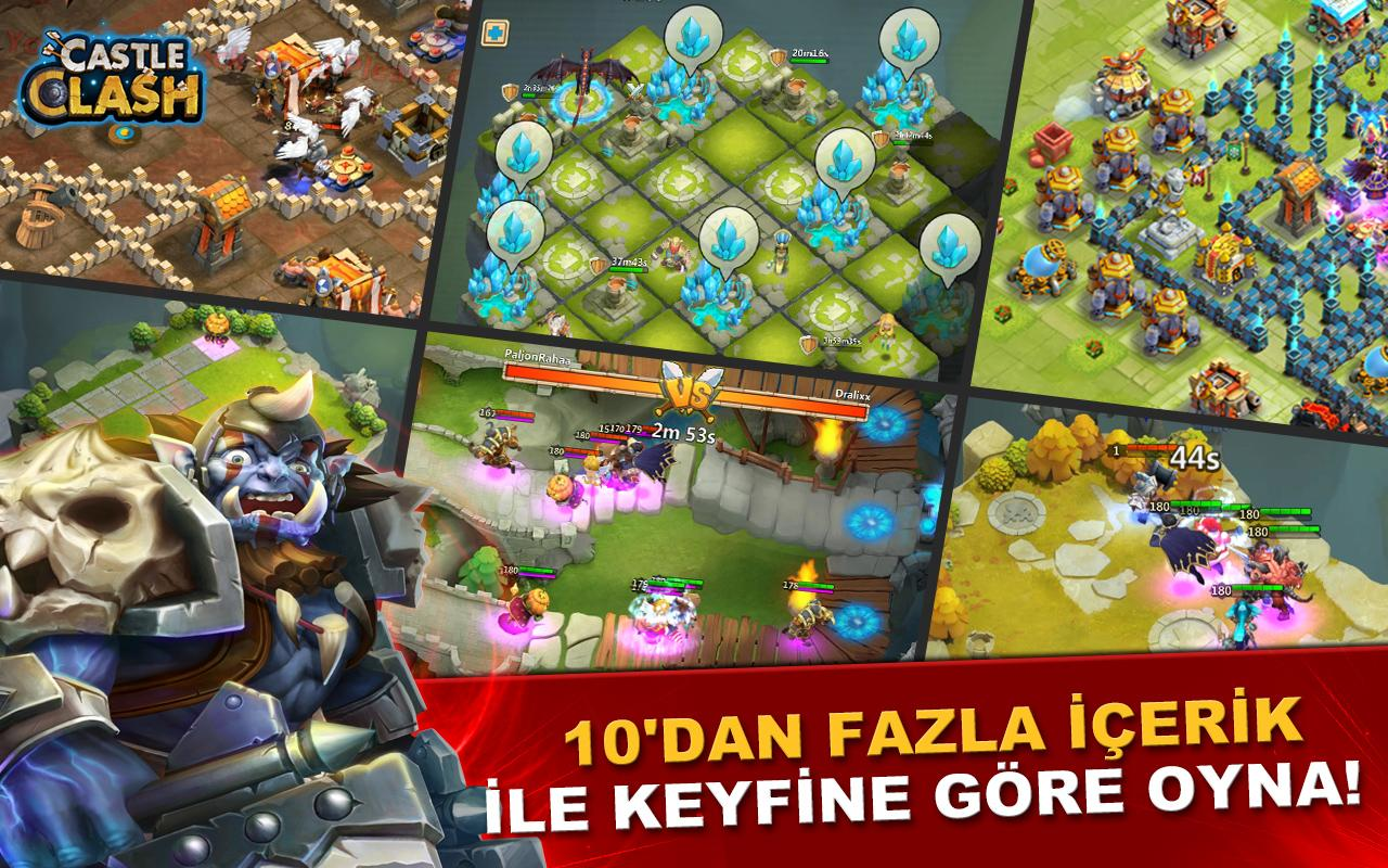 Castle Clash: Efsaneler Çağı Screenshot 6