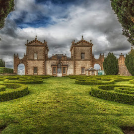 Chatelherault, Scotland by Angela Higgins - Buildings & Architecture Public & Historical