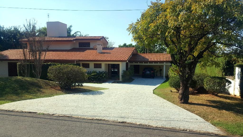 Casa Residencial Alto Padrão para Venda e Locação, Avenida Corporação Musical União, Condomínio Terras de São José, Itu - CA0866