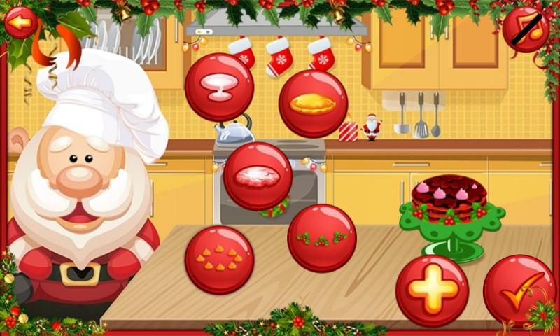 android Santa Cake Salon Screenshot 10