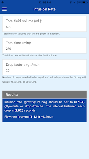 IV Infusion Calculator: Pump & Dosage Calculations