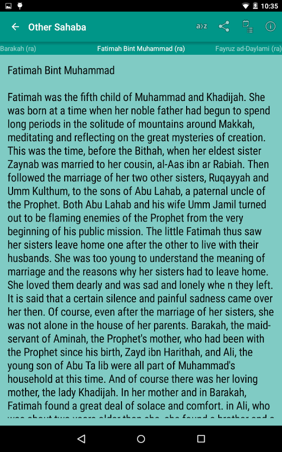 Stories of Sahaba Screenshot 16