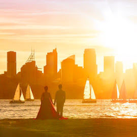 Sunset wedding  by Angela Taya - Novices Only Portraits & People (  )