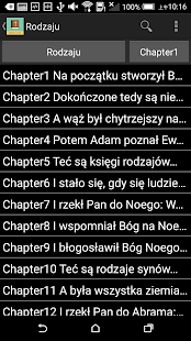 Polish English Bible - screenshot
