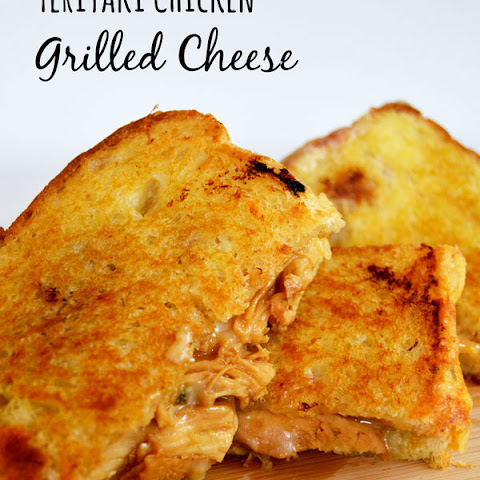 Teriyaki Chicken Grilled Cheese