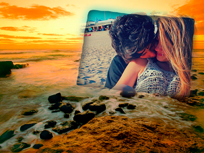 Beach Summer Photo Frames - screenshot