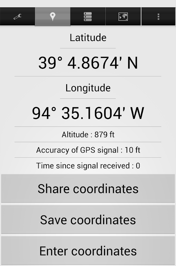 Share My GPS Coordinates Pro Screenshot 10