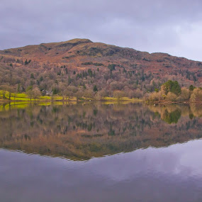 Lake District Reflection by Christian Rawlinson - Landscapes Mountains & Hills ( england, uk, reflection, christian rawlinson, lake district, river )