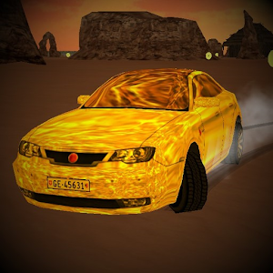 Download Gold Car Desert for Windows Phone