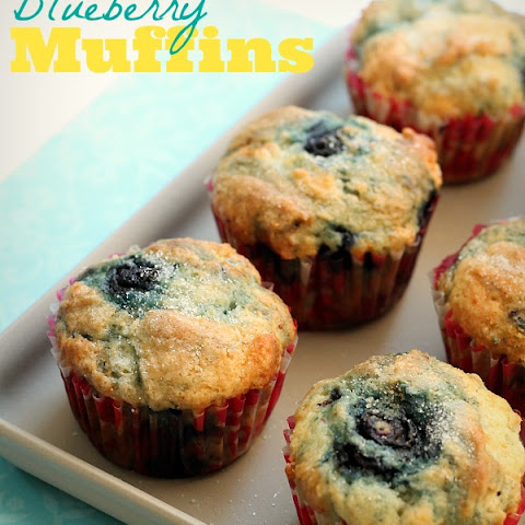 No-Fail Blueberry Muffins