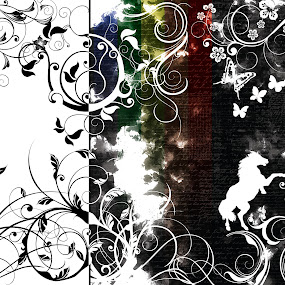 by Nirabhra Mandal - Digital Art Abstract