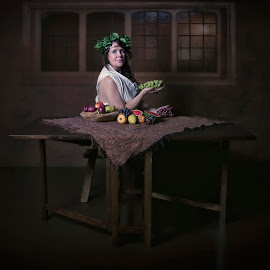 Dinner time by Carola Kayen-mouthaan - Digital Art People ( fine art photography )