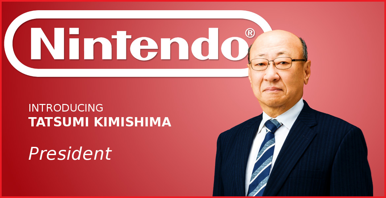 Nintendo Appoints Tatsumi Kimishima President
