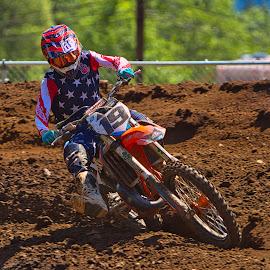 by Jim Jones - Sports & Fitness Motorsports ( motorcycle, motorsport, motorbike, motocross, motorcycles, mx )