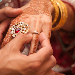 Wedding Ring by Tommy  Cochrane - Wedding Details ( henna, ring, wedding, muslim. islanlic, indian, tattoo )