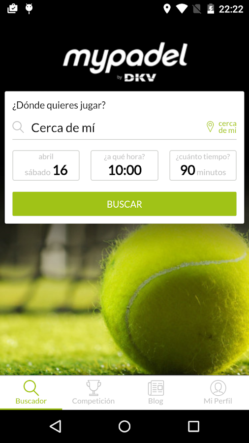 mypadel Screenshot 1